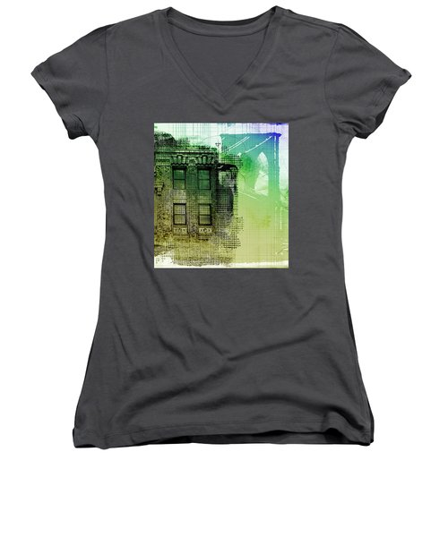 Window View Women's V-Neck (Athletic Fit)