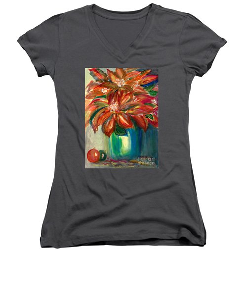 Winter Fest Women's V-Neck T-Shirt