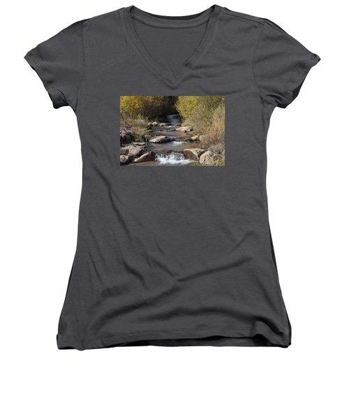 Waterfall Westcliffe Co Women's V-Neck