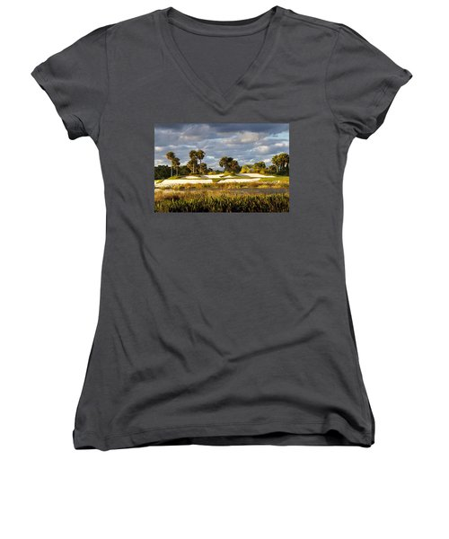 18th Hole Women's V-Neck (Athletic Fit)