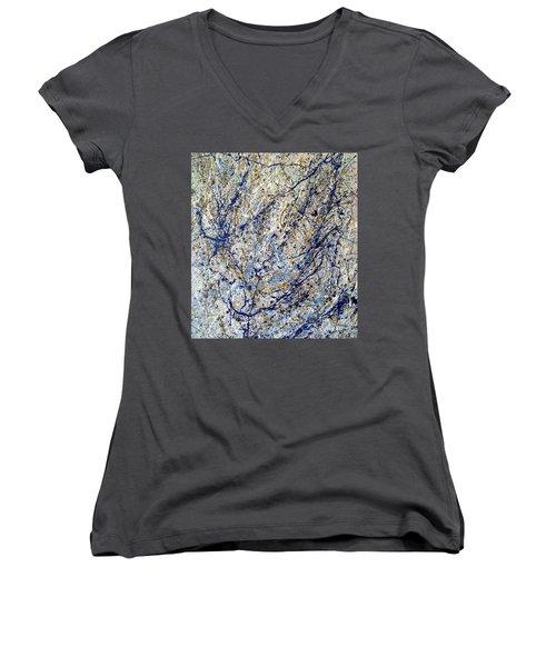 #11 Women's V-Neck T-Shirt