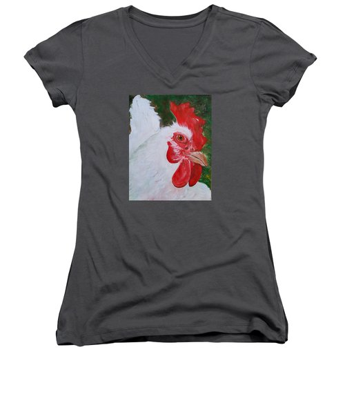 #13 Pearl Women's V-Neck T-Shirt