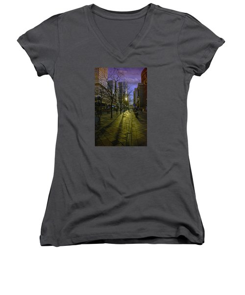 16th Street Mall Women's V-Neck T-Shirt