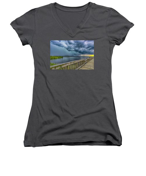 Storm Watch Women's V-Neck