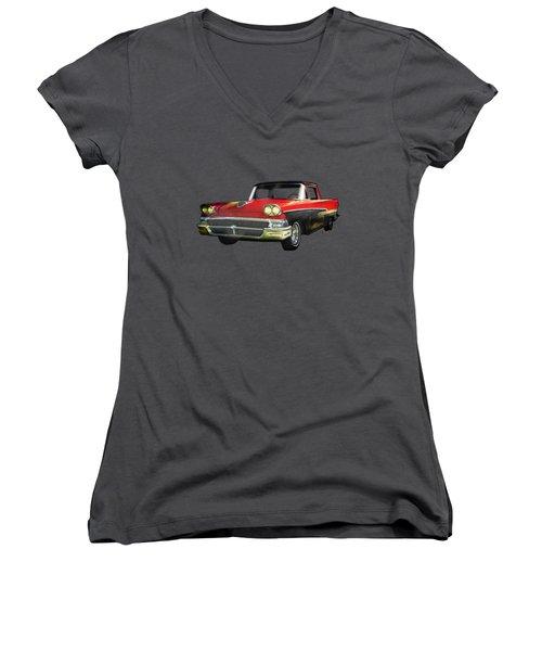 1958 Ford Ranchero 1st Generation Women's V-Neck