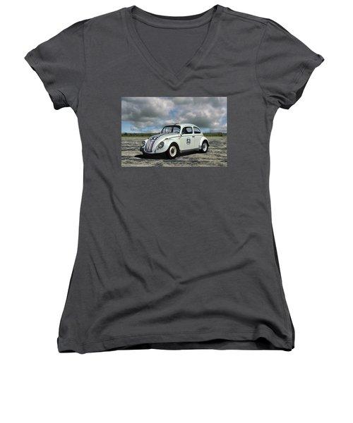1964 Vw Herbie  Women's V-Neck