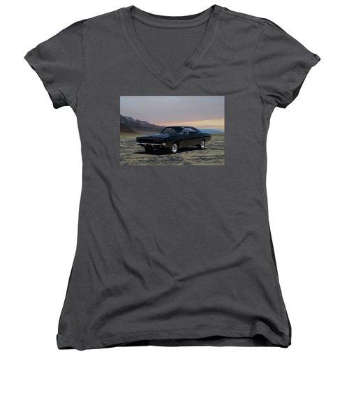 1968 Dodge Charger Rt 440 Women's V-Neck