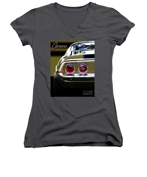 1970 Camaro Fat Ass Women's V-Neck (Athletic Fit)