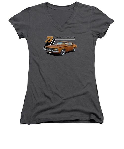 1973 Roadrunner Women's V-Neck T-Shirt