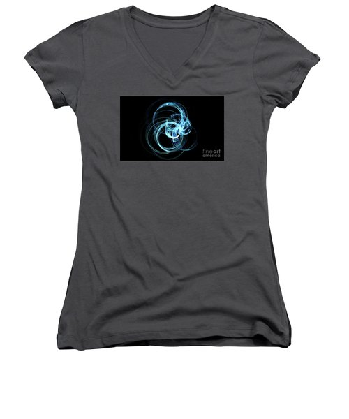 2 Women's V-Neck (Athletic Fit)