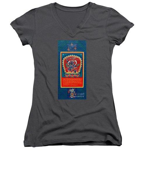 Arya Achala - Immovable One Women's V-Neck T-Shirt