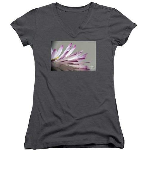 Beautiful Colorful Image About Daisy Flower Women's V-Neck