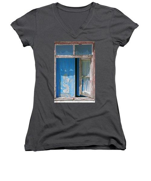 Blue Window Women's V-Neck