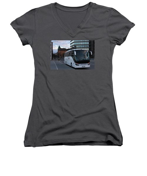 Bus Women's V-Neck