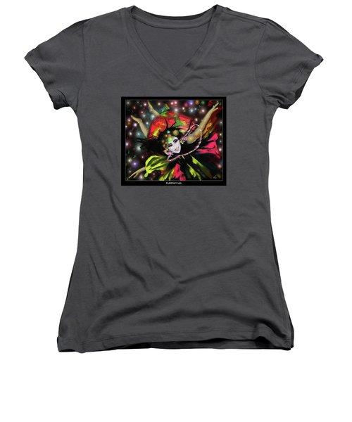 Carnival Women's V-Neck T-Shirt