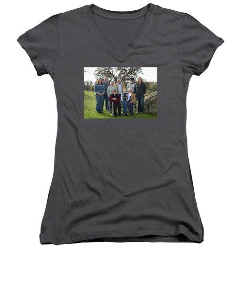 2 Women's V-Neck T-Shirt (Junior Cut) by Diane Bohna