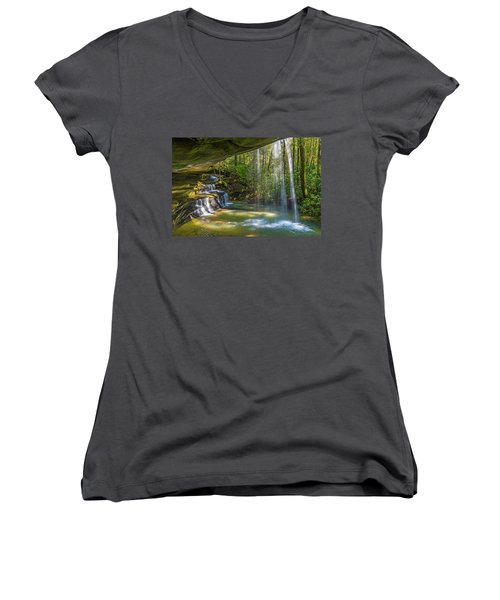 2 For One Falls Women's V-Neck (Athletic Fit)