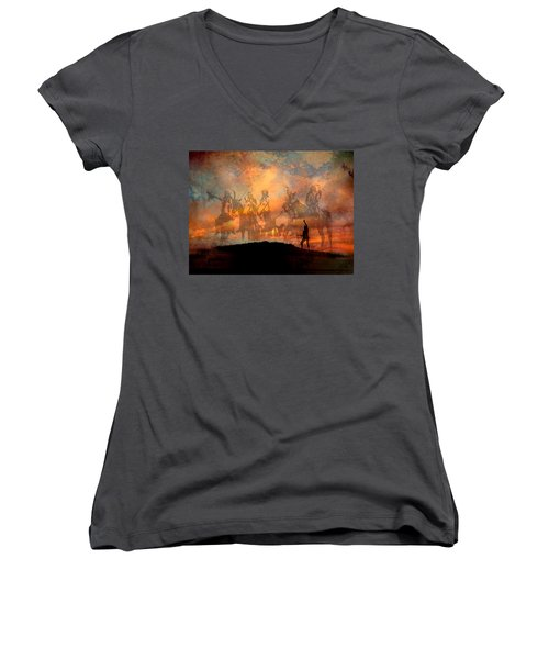 Forefathers Women's V-Neck (Athletic Fit)