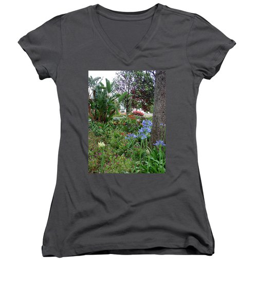 Funchal Maderia Women's V-Neck T-Shirt