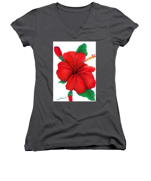 Greeting Cards Women's V-Neck (Athletic Fit)