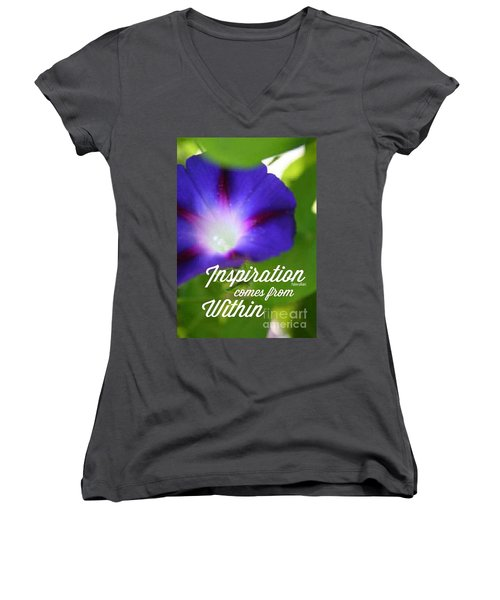 Inspiration  Women's V-Neck (Athletic Fit)