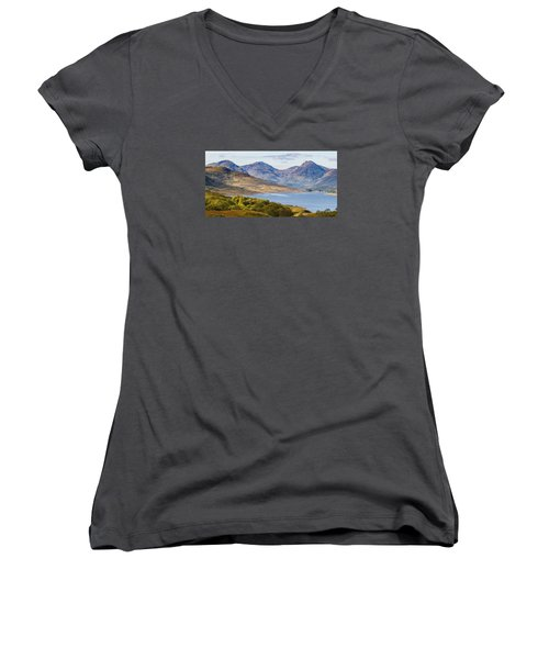 Loch Arklet And The Arrochar Alps Women's V-Neck