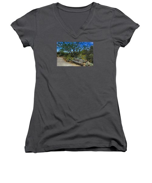 Peaceful Moment Women's V-Neck