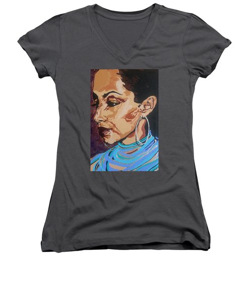 Sade Adu Women's V-Neck (Athletic Fit)