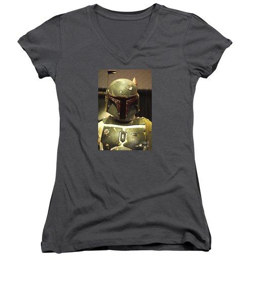 The Real Boba Fett Women's V-Neck T-Shirt
