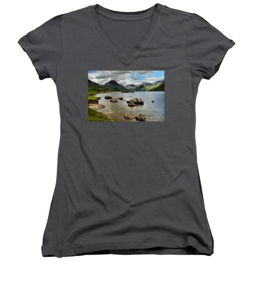 Wastwater Women's V-Neck (Athletic Fit)