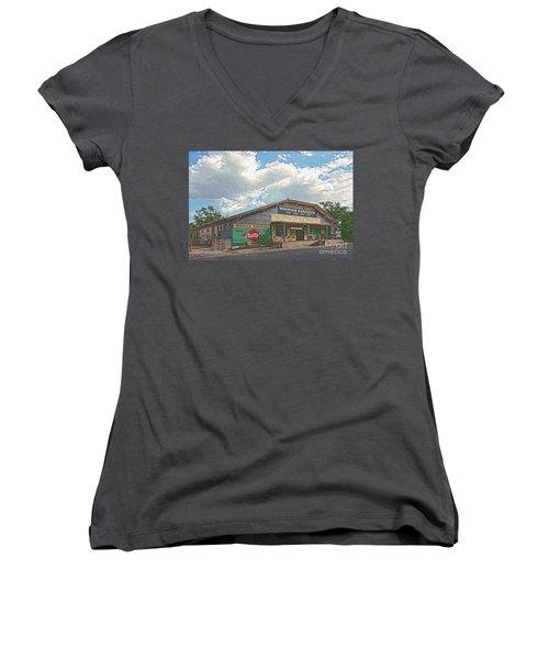 Woerner Warehouse Women's V-Neck (Athletic Fit)