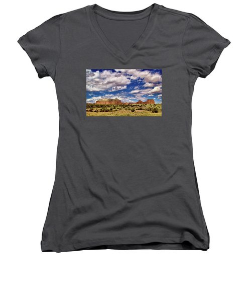 Capitol Reef National Park Catherdal Valley Women's V-Neck