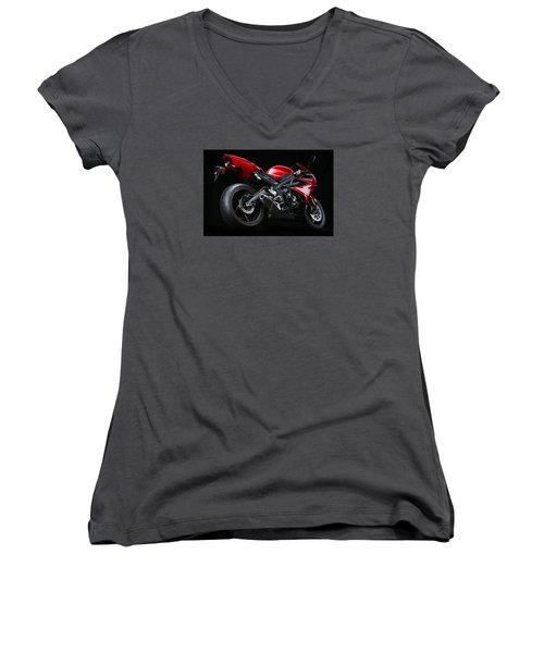 2013 Triumph Daytona 675 Women's V-Neck