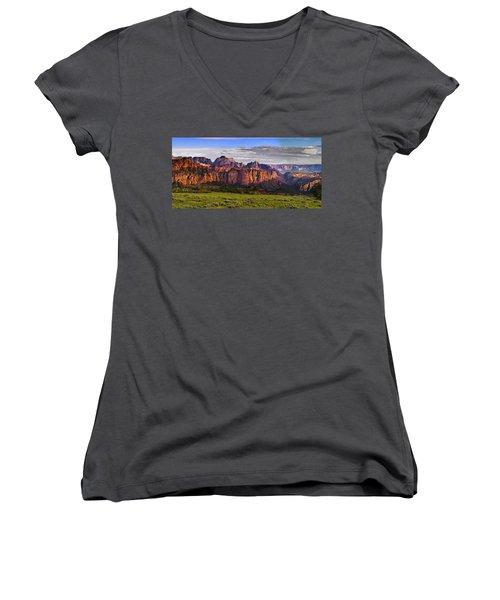 Zion National Park Women's V-Neck
