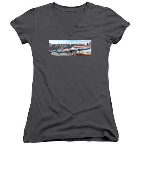 250n10 #5 Women's V-Neck T-Shirt (Junior Cut) by Steve Sahm