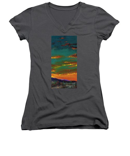 2nd In A Triptych Women's V-Neck