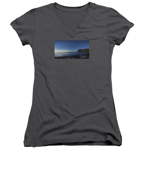 Blue Hour Women's V-Neck T-Shirt