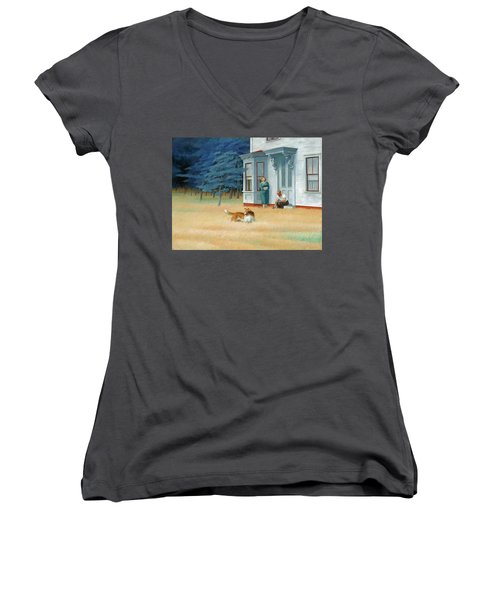 Cape Cod Evening Women's V-Neck