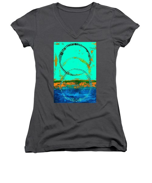 3 In One Women's V-Neck T-Shirt