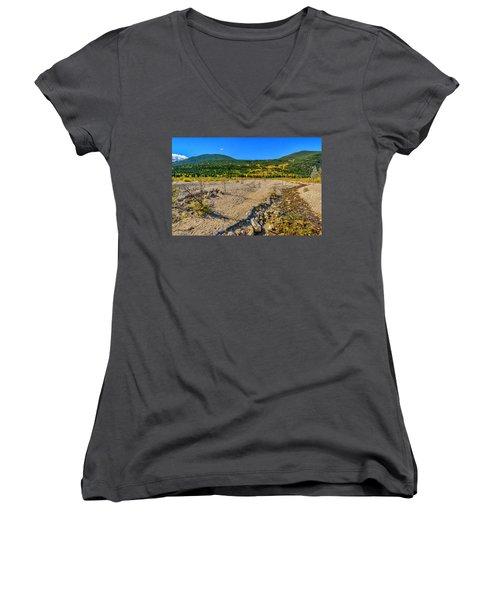 Rocky Mountain National Park Colorado Women's V-Neck