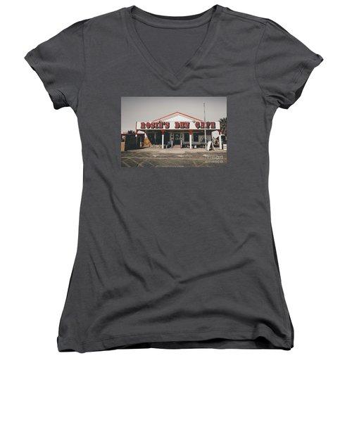 Rosies Den Cafe   Women's V-Neck