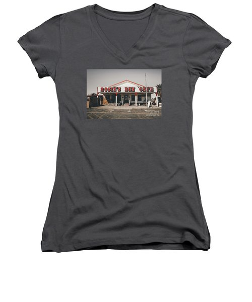 Rosies Den Cafe   Women's V-Neck