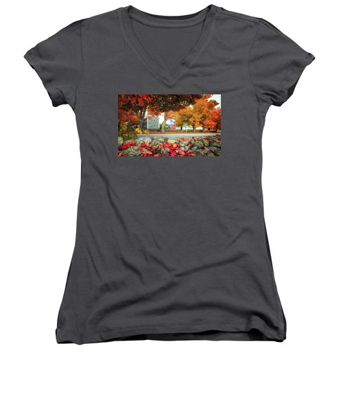 Shaker Village Women's V-Neck (Athletic Fit)