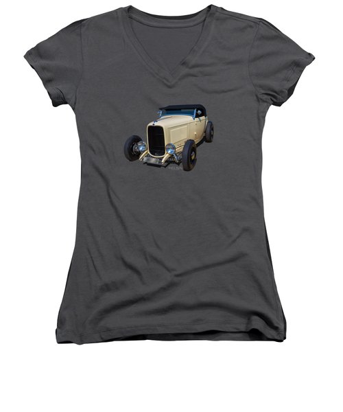 32 Ragtop Women's V-Neck T-Shirt
