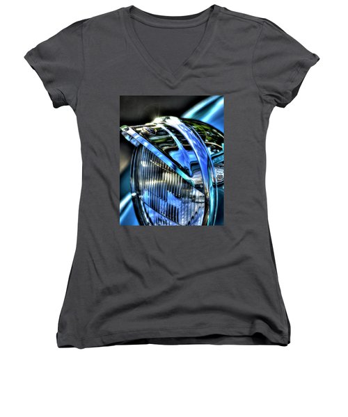 38 Ford Headlamp Women's V-Neck