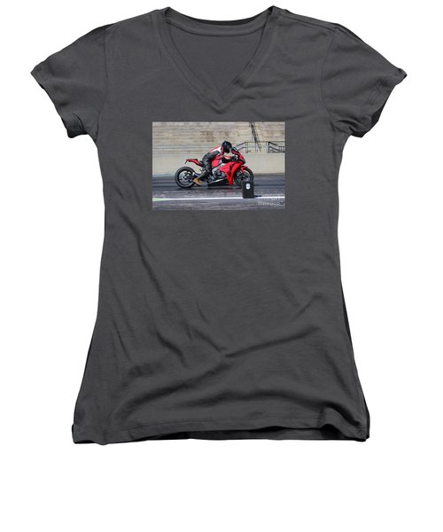 Man Cup 08 2016 By Jt Women's V-Neck T-Shirt
