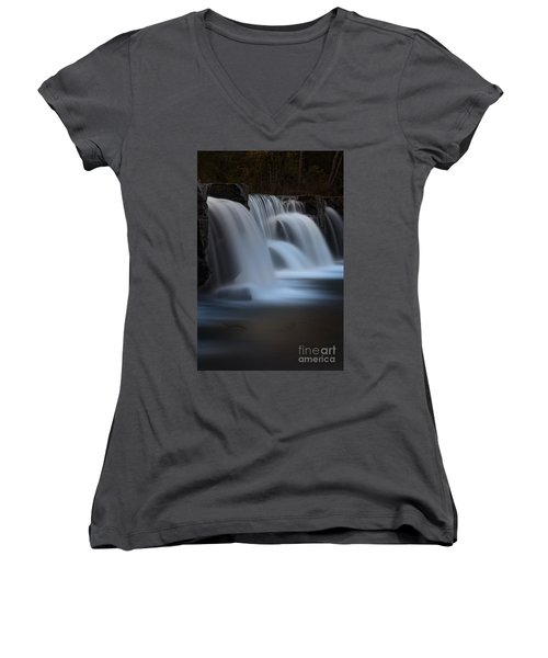 Natural Dam Women's V-Neck T-Shirt