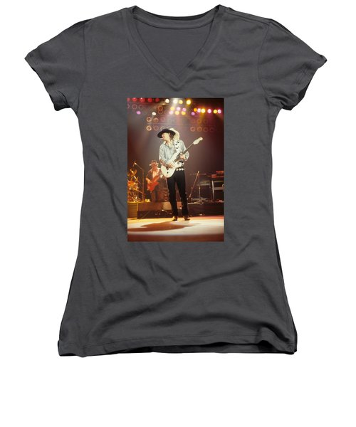 Stevie Ray Vaughan Women's V-Neck