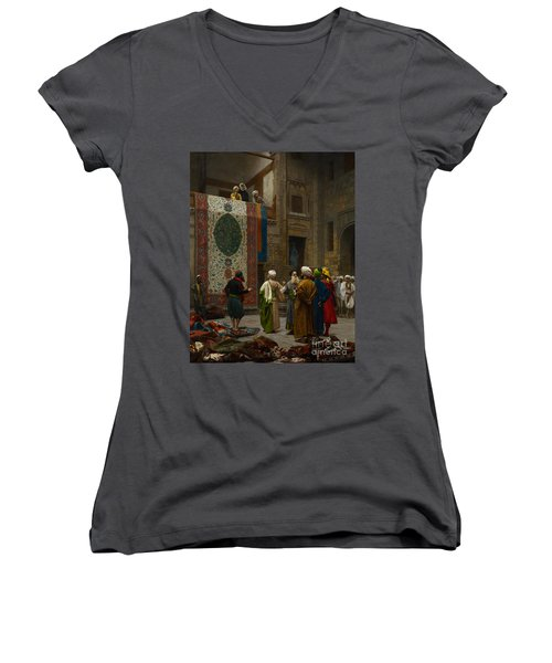 The Carpet Merchant Women's V-Neck