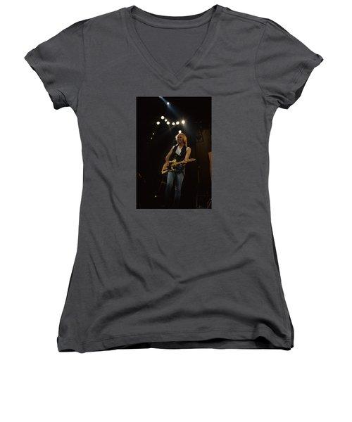 Tom Petty Women's V-Neck